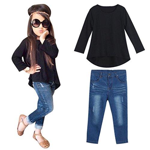 111459a28a82 Sunbona Toddler Baby Girls Cute Autumn Button Knitted Sweater ...