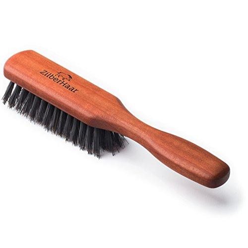 Zilberhaar Beard Brush Soft Bristles 100 Boar Bristle