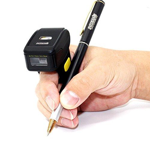 Portable Barcode Scanner,Symcode 2D Mini Bluetooth Wireless Handheld