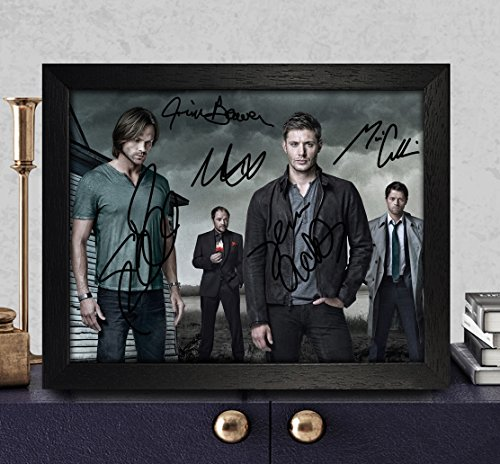 Supernatural Sam /& Dean - Mugshots TV Show Poster // Print Size: 24 x 36