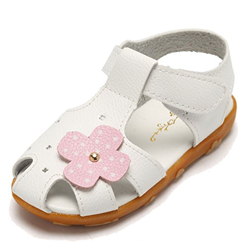 Voberry Girls Leather Flower Princess Sandals Open Toe Toddler//Little Kid//Big Kid
