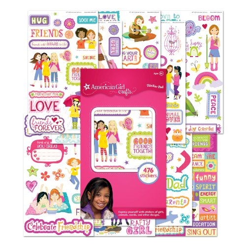 Ultimate Sticker Collection American Girl Motemoto