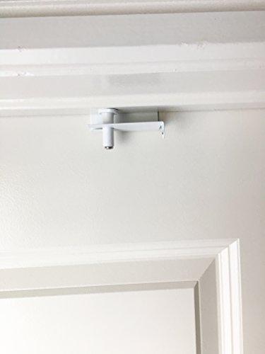 Prime Line U 9888 Flip Action Door Lock Reversible White